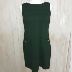 Vince Camuto fitted green dress